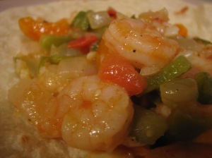 Tequila-Lime Shrimp!