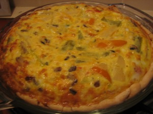 The whole enchilada - I mean, quiche
