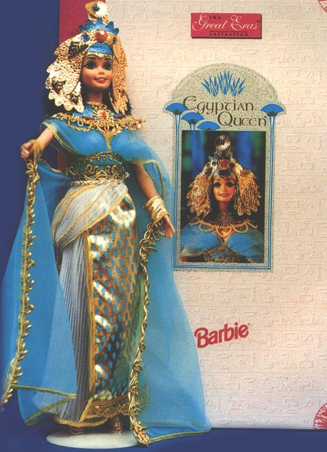 I finally got my Egyptian Barbie!