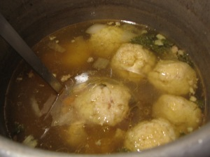 Matzo ball soup 001