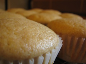 Lemon, Brown Sugar, Olive Oil Cupcakes
