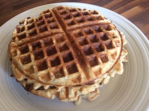 Lelisa's Gluten Free Multigrain Oat Waffles